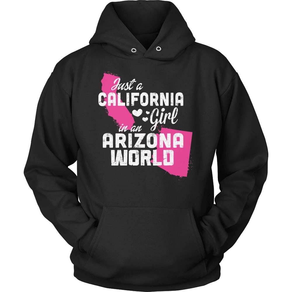 California T-Shirt Design - California Girl Arizona World
