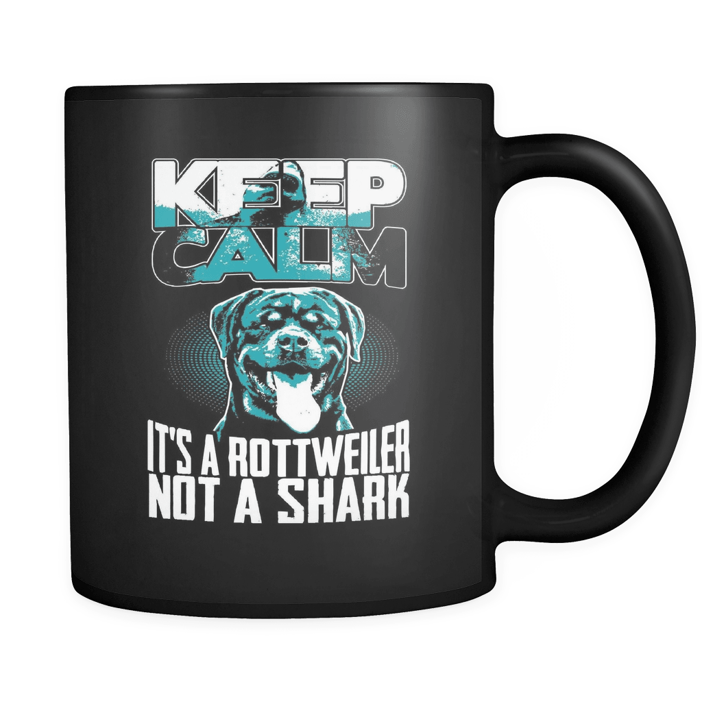 Keep Calm It's A Rotty! - Luxury Rottweiler Mug