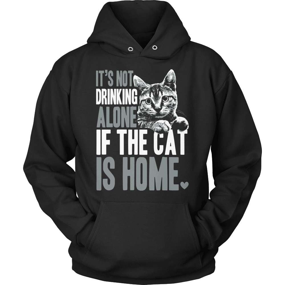 Cat Shirt - If The Cat Is Home - snazzyshirtz.com