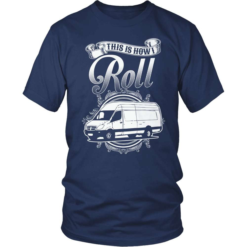 Mail Carrier T-Shirt Design - This Is How I Roll