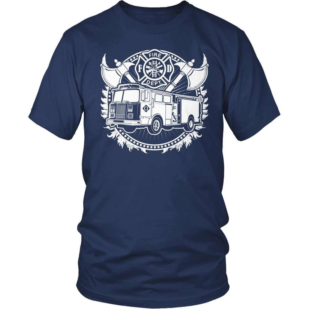 Firefighter T-Shirt Design - Badge Of Honor