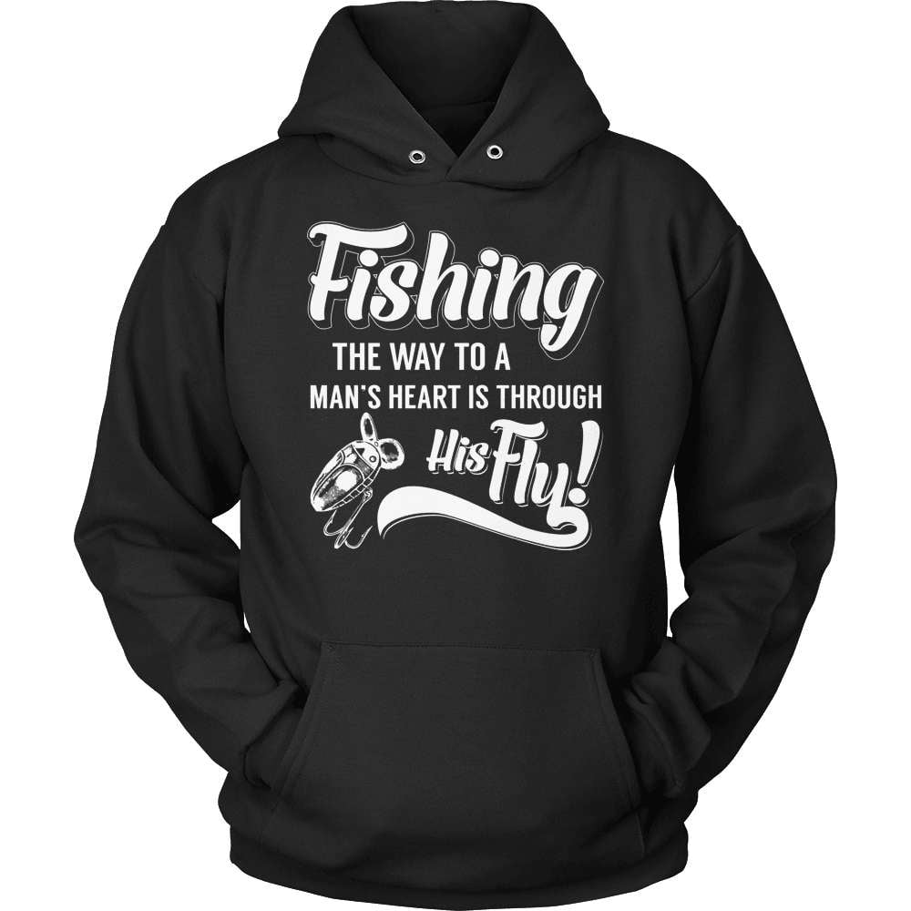 Fishing T-Shirt Design - Through His Fly!