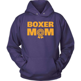 Boxer T-Shirt Design - Proud Boxer Mom