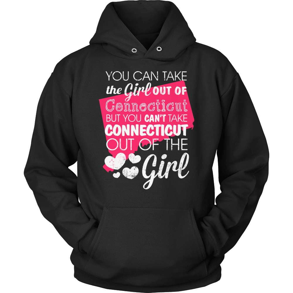 Connecticut T-Shirt Design - Girl Out Of Cunnecticut - snazzyshirtz.com