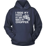 Biker T-Shirt Design - Ride My Hog