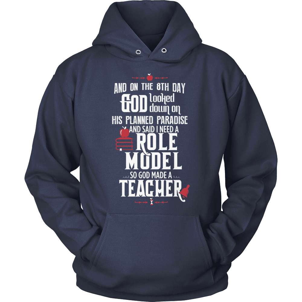 Teacher T-Shirt Design - And On The 8th Day...