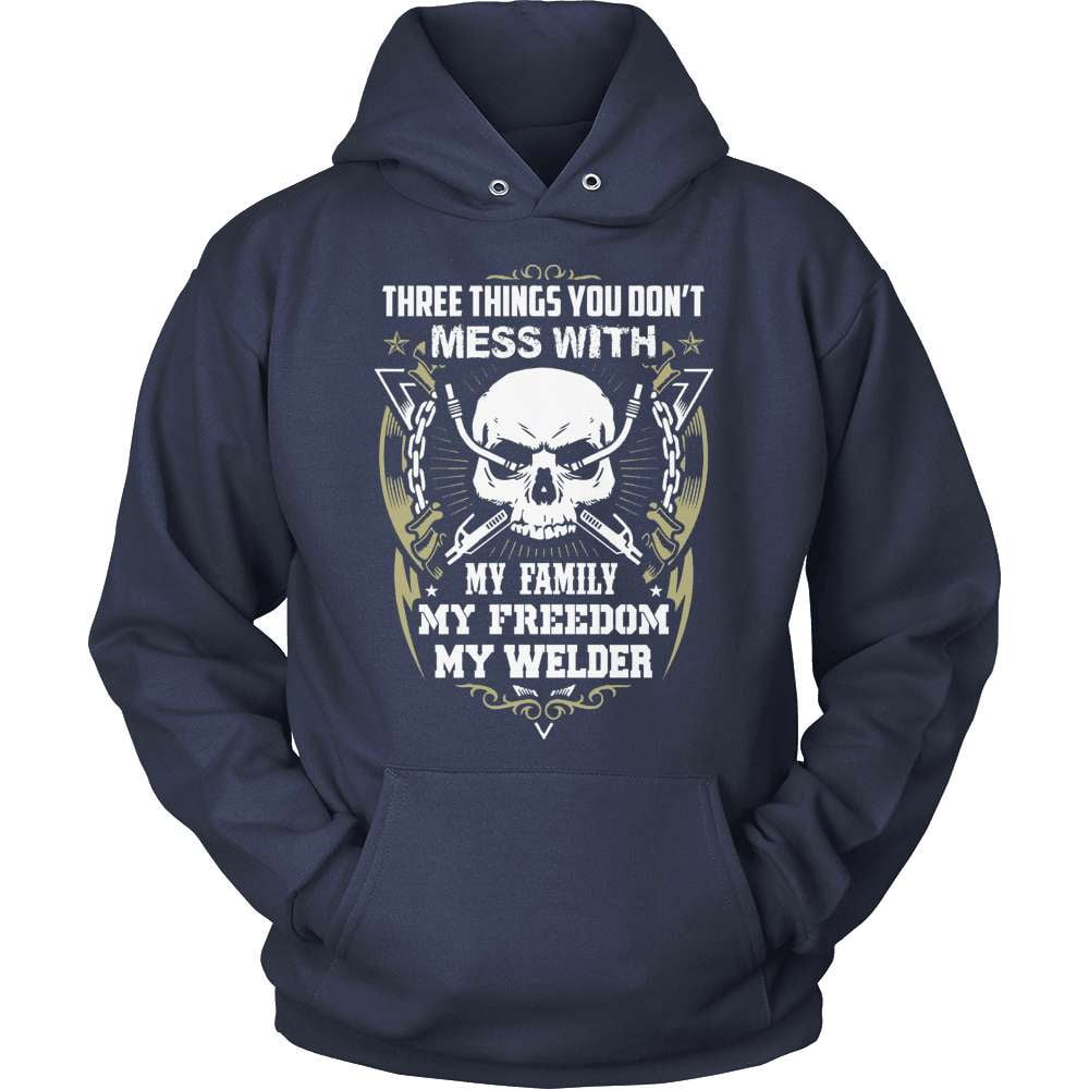 Welder T-Shirt Design - Three Things