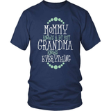 Grandparent T-Shirt Design - Grandma Knows Everything