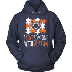 Autism Shirt - I Love Someone With Autism - snazzyshirtz.com