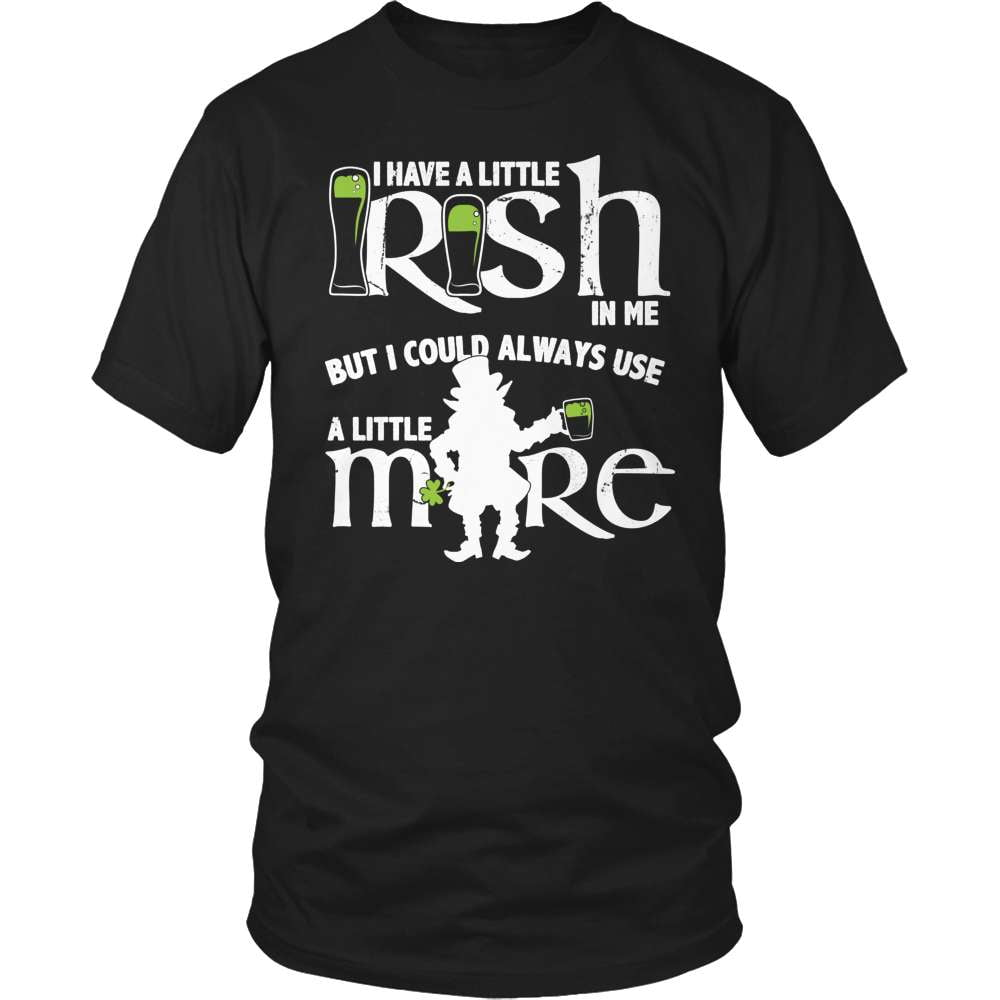 Irish T-Shirt Design - Irish In Me!