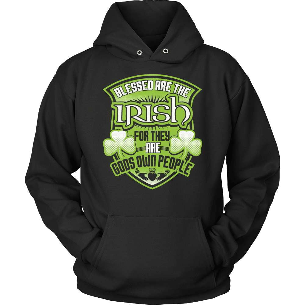 Irish T-Shirt Design - Blessed Are The Irish