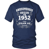 Birthday T-Shirt Design - Awesomeness - 1952