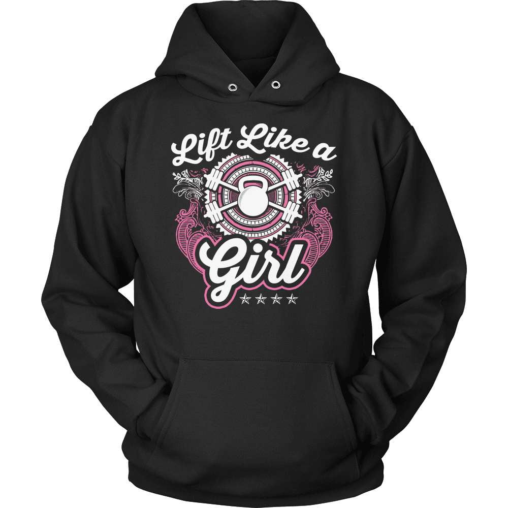 Fitness T-Shirt Design - Lift Like A Girl