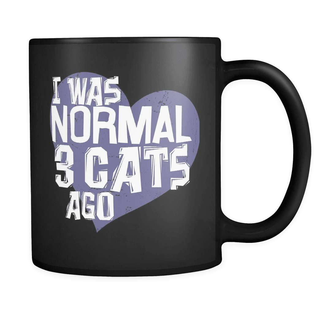 I Was Normal - Luxury Cat Mug
