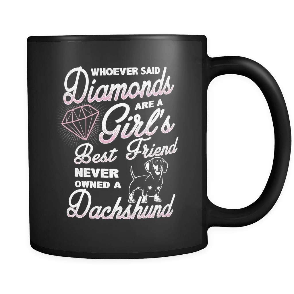 Diamond Dog - Luxury Dachshund Mug