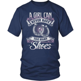 Horse T-Shirt Design - Too Many Shoes