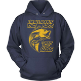 Fishing T-Shirt Design - I'm All About That Bass!