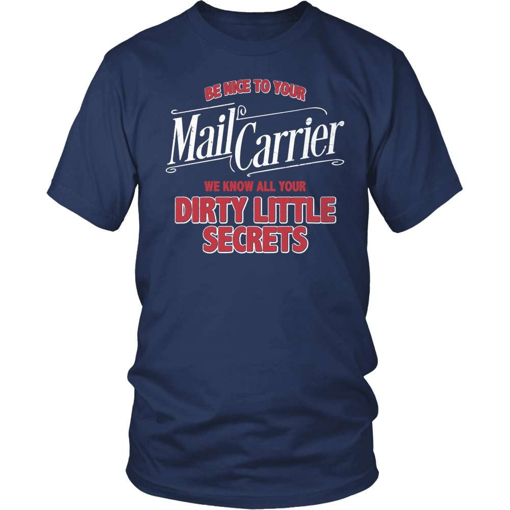 Mail Carrier T-Shirt Design - I Know Your Secrets