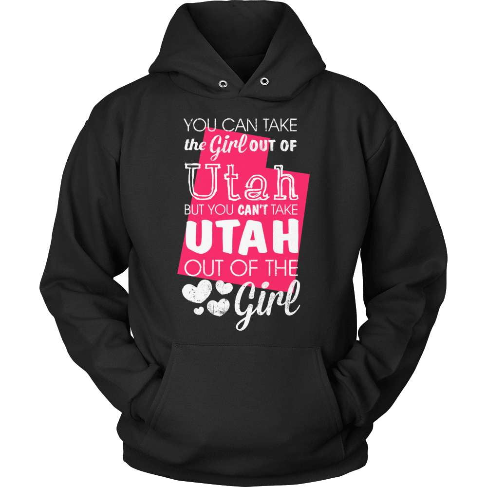 Utah T-Shirt Design - Girl Out Of Utah