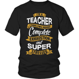 Teacher T-Shirt Design - Two Moods