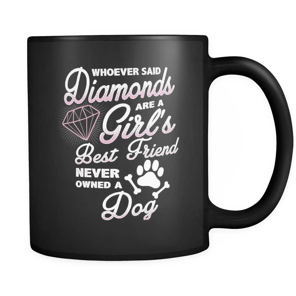Diamond Dog - Luxury Mug