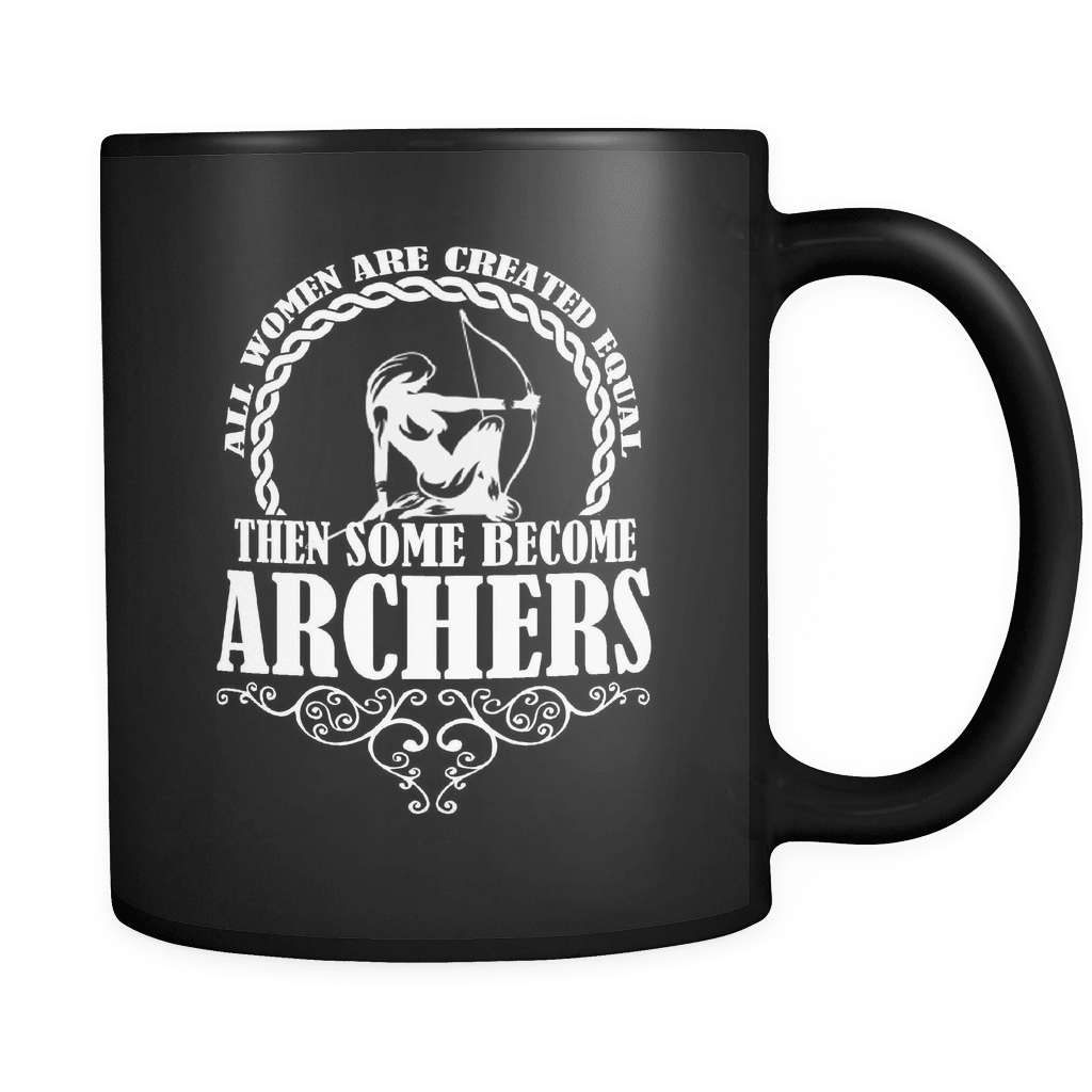 Some Become Archers - Luxury Archery Mug