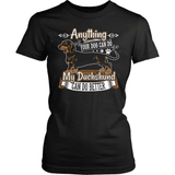 Dachshund T-Shirt Design - My Dachshund Can Do Better!