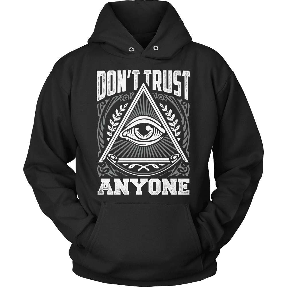Truth Seeker T-Shirt Design - Don't Trust Anyone! - snazzyshirtz.com