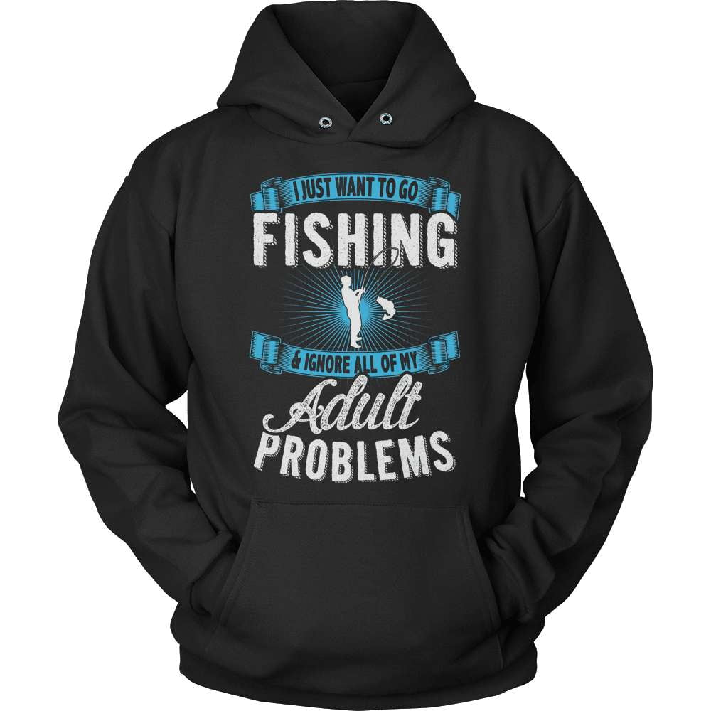 Fishing T-Shirt Design - Go Fishing