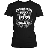 Birthday T-Shirt Design - Awesomeness - 1939