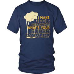 Beer Shirt - I Make Beer Disappear! - snazzyshirtz.com