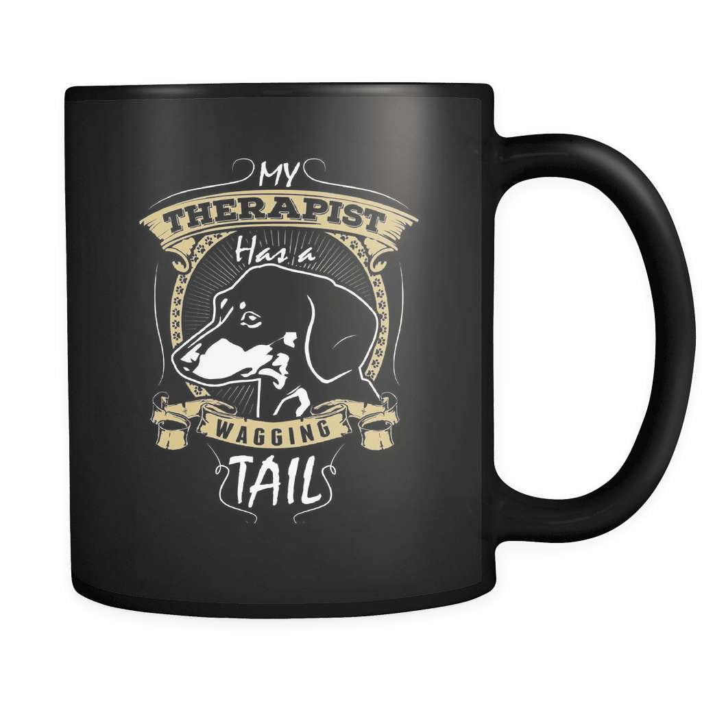 My Dachshund Therapist - Luxury Mug