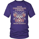 Veteran T-Shirt Design - Military Woman