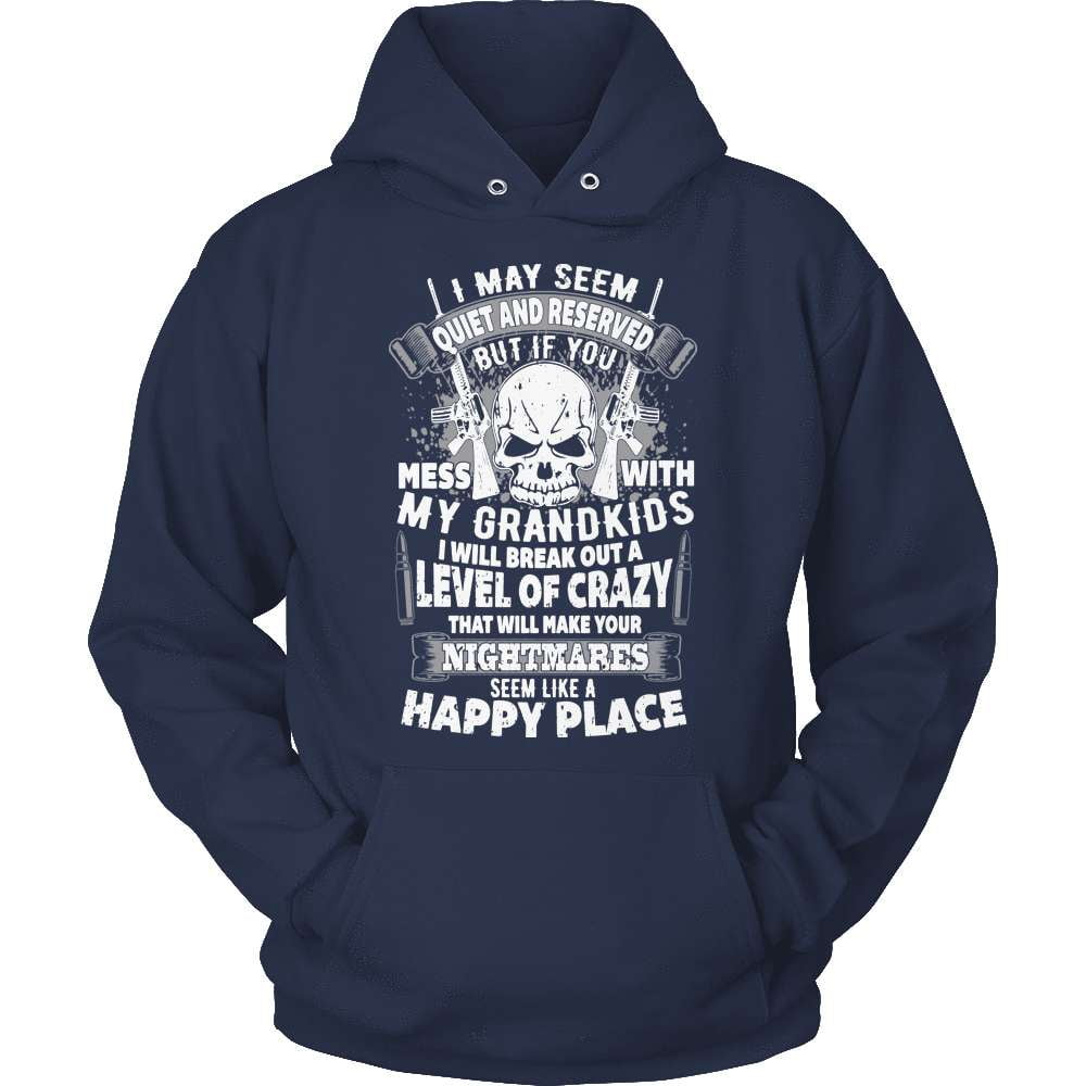 Grandparents T-Shirt Design - Don't Mess With My Grandkids