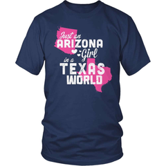 Arizona Shirt - Arizona Girl Texas World - snazzyshirtz.com