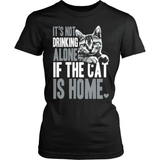 Cat T-Shirt Design - If The Cat Is Home