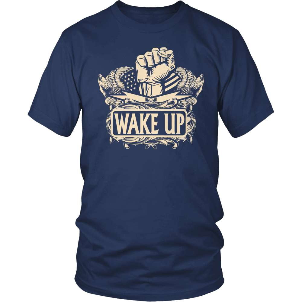 Truth Seeker T-Shirt Design - Wake Up!