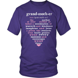 Grandparent T-Shirt Design - Grand-moth-er