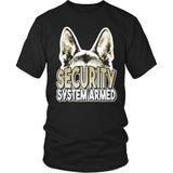 GSD T-Shirt Design - Security System Armed