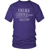 Birthday T-Shirt Design - Vintage - 1959