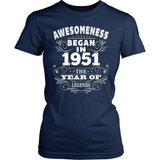 Birthday T-Shirt Design - Awesomeness - 1951