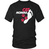 Cat T-Shirt Design - Cat Momma
