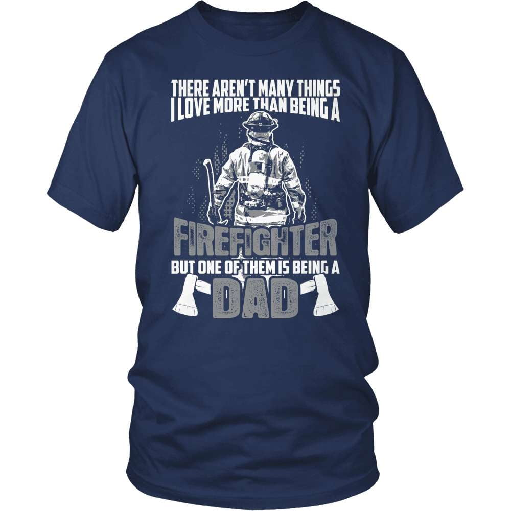 Firefighter T-Shirt Design - Firefighter Dad