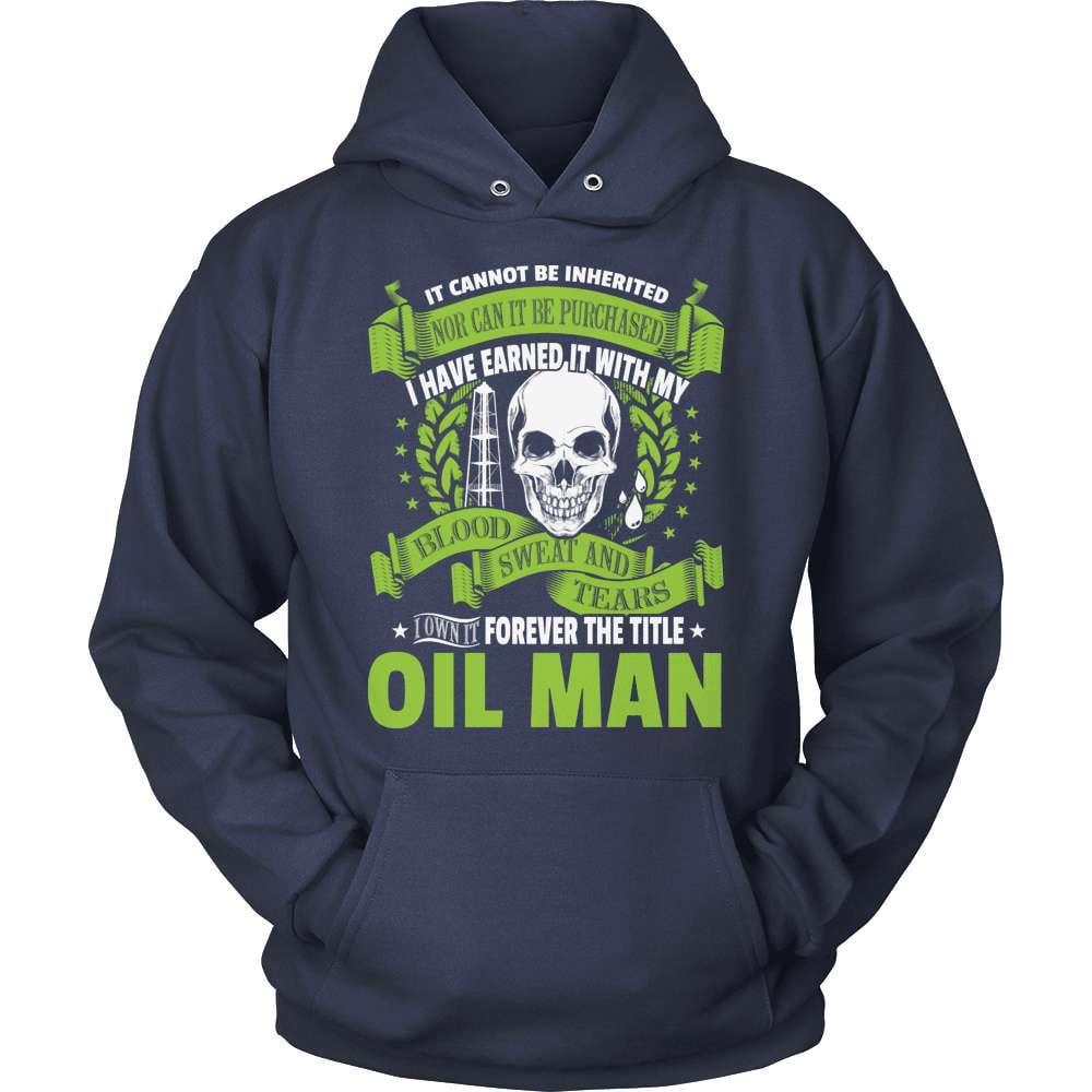 Oil Worker T-Shirt Design - Forever My Title