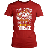 Firefighter T-Shirt Design - Driven By Courage