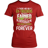 Trucker T-Shirt Design - No Ex-Truckers