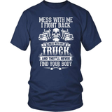 Trucker T-Shirt Design - Keep Off My Truck