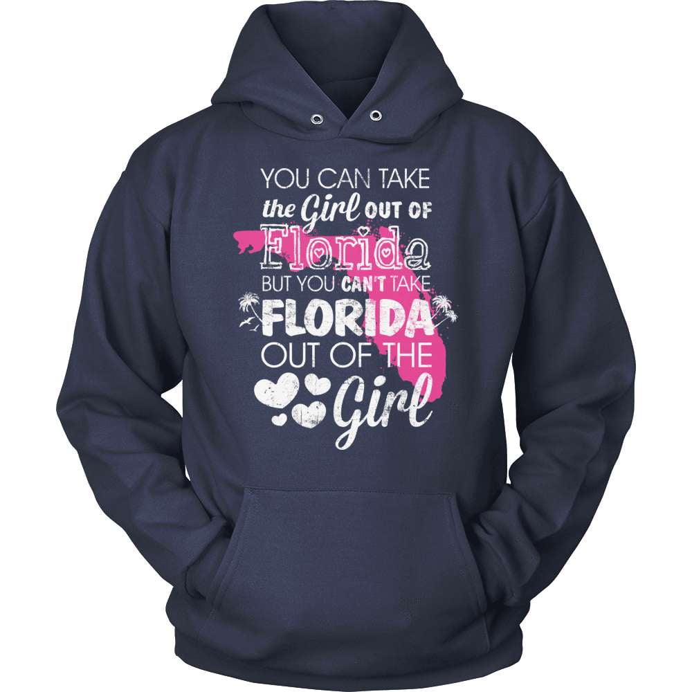 Florida T-Shirt Design - Girl Out Of Florida