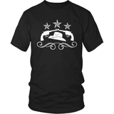 Country T-Shirt Design - Hats & Guns