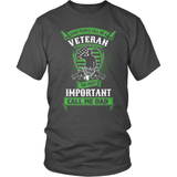 Veteran T-Shirt Design - Some Call Me A Veteran